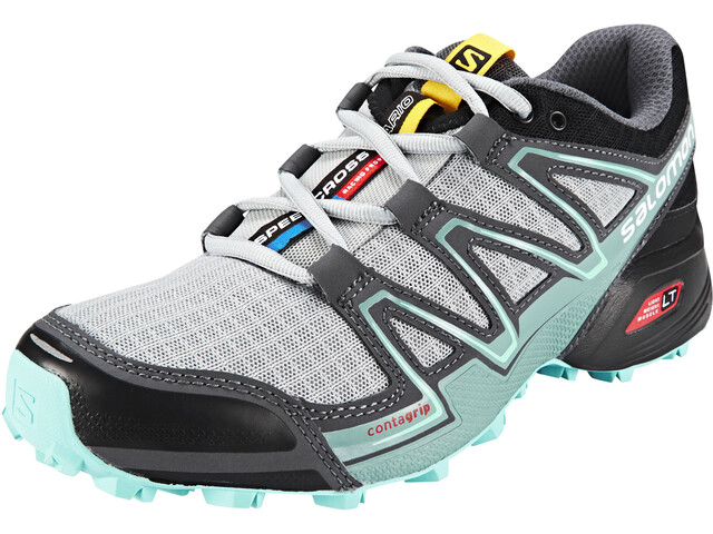 Salomon Speedcross Vario Løbesko Damer grå/turkis | Running shoes